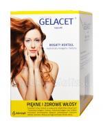 GELACET - 120 kaps. Piękne i zdrowe włosy - cena, opinie, właściwości
