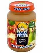 GERBER BOBO FRUT SMAKI DZIECIŃSTWA Jabłko gruszka po 4 m-cu - 185 g - Apteka internetowa Melissa