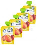GERBER Deserek Jabłko, mango po 6 m-cu - 4 x 90 g