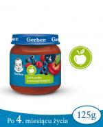 GERBER DESEREK Jabłuszka z owocami leśnymi po 4 miesiącu - 125 g - Apteka internetowa Melissa