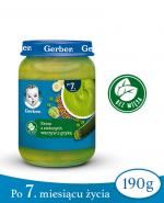 GERBER Krem z zielonych warzyw z gryką po 7 m-cu - 190 g - Apteka internetowa Melissa
