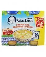 GERBER KUCHNIA POLSKA Domowa zupka kalafiorowa z królikiem po 8 miesiącu -  2 x 190 g - Apteka internetowa Melissa
