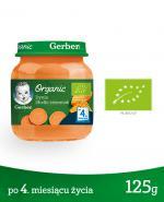 GERBER ORGANIC Dynia/Słodki ziemniak po 4 m-cu - 125 g - Apteka internetowa Melissa