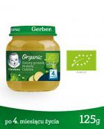 GERBER ORGANIC Zielony groszek/Brokuły/Cukinia po 4 m-cu - 125 g - Apteka internetowa Melissa