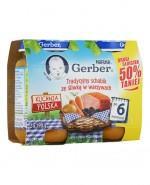GERBER KUCHNIA POLSKA Tradycyjny schabik ze śliwką w warzywach po 6 m-cu - 2 x 190 g - Apteka internetowa Melissa