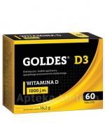 GOLDES D3  1000 j.m - 60 tabl. - Apteka internetowa Melissa