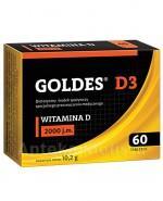 GOLDES D3  2000 j.m - 60 tabl. - Apteka internetowa Melissa