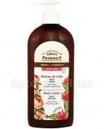 GREEN PHARMACY Balsam do ciała regenerujący z efektem ujędrniania róża i imbir - 500 ml - Apteka internetowa Melissa