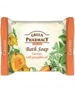 GREEN PHARMACY Mydło w kostce marchew i olejek z nasion dyni - 100 g - Apteka internetowa Melissa