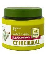 O`HERBAL Maska do włosów farbowanych z ekstraktem z macierzanki tymianku - 500 ml - Apteka internetowa Melissa