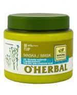 O`HERBAL Maska do włosów suchych i zniszczonych z ekstraktem z lnu - 500 ml - Apteka internetowa Melissa