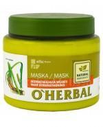 O`HERBAL Maska wzmacniająca włosy z ekstraktem z korzenia tataraku - 500 ml - Apteka internetowa Melissa