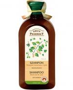 GREEN PHARMACY Szampon przeciwłupieżowy dziegieć brzozowy cynk - 350 ml - Apteka internetowa Melissa