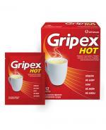 GRIPEX HOT - 12 sasz. - Apteka internetowa Melissa