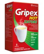 GRIPEX HOT ZATOKI - 8 sasz. - Apteka internetowa Melissa