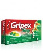 GRIPEX SINU CAPS - 10 kaps. Data ważności: 2017.06.30 - Apteka internetowa Melissa