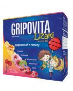 GRIPOVITA LIZAKI - 12 szt. - smak wiśniowy - cena, opinie, właściwości