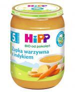 HIPP BIO Krem z marchwi i ryżu z cielęciną po 5 miesiącu - 190 g - Apteka internetowa Melissa