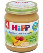 HIPP BIO Banany z brzoskwiniami po 4. miesiącu - 125 g - Apteka internetowa Melissa