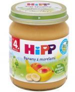 HIPP BIO Banany z morelami po 4 miesiącu - 125 g - Apteka internetowa Melissa