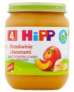 HIPP BIO Brzoskwinie z bananami po 4 miesiącu - 125 g - Apteka internetowa Melissa