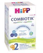 HIPP BIO COMBIOTIK 2 Ekologiczne mleko następne dla niemowląt po 6. miesiącu życia - 600 g - Apteka internetowa Melissa
