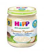 HIPP BIO DOMOWE PYSZNOŚCI Ryż mleczny z jabłkami po 9 miesiącu - 200 g - Apteka internetowa Melissa