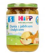 HIPP BIO Dynia z indykiem po 5 miesiącu - 190 g - Apteka internetowa Melissa