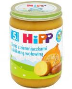 HIPP BIO Dynia z ziemniaczkami i delikatną wołowiną po 5 miesiącu - 190 g - Apteka internetowa Melissa