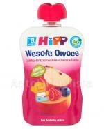 HiPP BIO Wesołe Owoce Jabłka-Brzoskwinie-Owoce leśne po 8 miesiącu - 90 g - Apteka internetowa Melissa