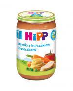 HIPP BIO Jarzynki z kurczakiem i kluseczkami po 11. miesiącu - 220 g - Apteka internetowa Melissa