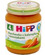 HIPP BIO Marchewka z kalarepką i ziemniakami po 4 miesiącu - 125 g - Apteka internetowa Melissa
