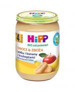 HIPP BIO Owoce & Zboża jabłka i banany z biszkoptami po 4 miesiącu - 190 g - Apteka internetowa Melissa