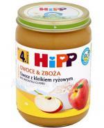 HIPP BIO OWOCE & ZBOŻA Owoce z kleikiem ryżowym po 4 miesiącu - 190 g - Apteka internetowa Melissa