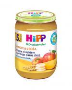 HIPP BIO OWOCE & ZBOŻA Owoce z kleikiem z pełnego ziarna zbóż po 5 miesiącu - 190 g - Apteka internetowa Melissa