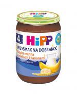 HIPP BIO PRZYSMAK NA DOBRANOC Kaszka manna z mlekiem i bananami po 4 m-cu - 190 g - Apteka internetowa Melissa