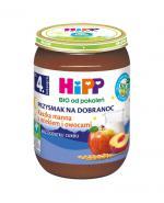 HIPP BIO PRZYSMAK NA DOBRANOC Kaszka manna z mlekiem i owocami po 4 miesiącu - 190 g - Apteka internetowa Melissa
