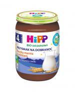 HIPP BIO PRZYSMAK NA DOBRANOC Kaszka manna z mlekiem po 4 miesiącu - 190 g - Apteka internetowa Melissa