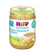 HIPP BIO Rosołek z kluseczkami i indykiem po 7 miesiącu  - 190 g - Apteka internetowa Melissa
