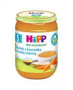 HIPP BIO Rosołek z kurczaka z kaszką manną po 5 miesiącu - 190 g - Apteka internetowa Melissa