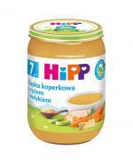 HIPP BIO Zupka koperkowa z ryżem i indykiem po 7 miesiącu - 190 g Data ważności: 2018.12.31 - Apteka internetowa Melissa
