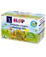 HIPP BIO Herbatka z kopru włoskiego bez cukru - 20 x 1,5 g - Apteka internetowa Melissa
