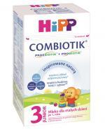 HIPP JUNIOR COMBIOTIK 3 Mleko dla małych dzieci po 1. roku życia - 600 g - Apteka internetowa Melissa