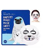 HOLIKA HOLIKA Baby Pet Magic Mask Sheet Seal maseczka na bawełniane płachcie - 1 szt.
