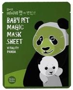 HOLIKA HOLIKA Baby Pet Magic Mask Sheet Vitality Panda maseczka na bawełniane płachcie - 1 szt.