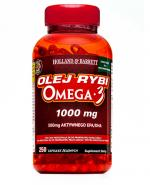 HOLLAND&BARRETT Olej rybi Omega-3 1000 mg - 250 kaps.