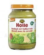 HOLLE Brokuł z pełnoziarnistym ryżem - 190 g - Apteka internetowa Melissa