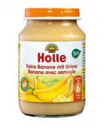 HOLLE Deserek Delikatny banan z grysikiem - 190 g - Apteka internetowa Melissa