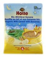 HOLLE Kaszka mleczno-pszenna bananowa na noc - 25 g - Apteka internetowa Melissa