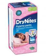 HUGGIES DRYNITES Pieluchomajtki dla dziewczynki 4-7 lat  17-30 kg - 10 szt. - Apteka internetowa Melissa